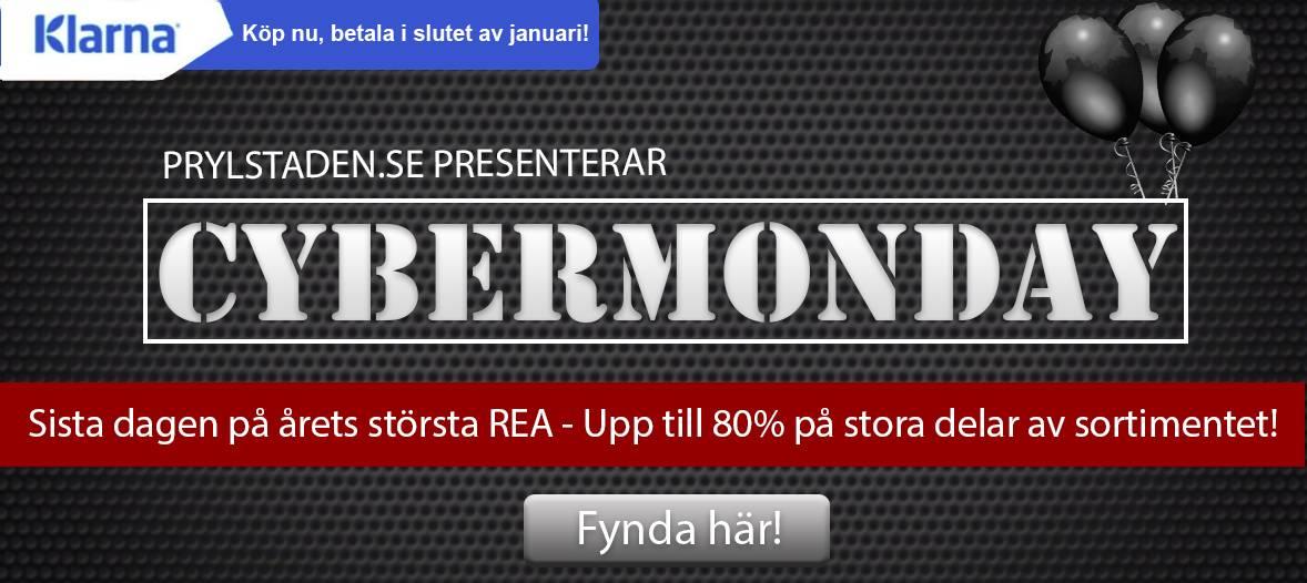 Black week på Prylstaden.se med upp till 80% REA