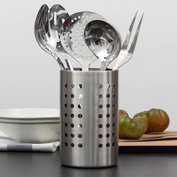 Köksredskapsset i rostfritt stål