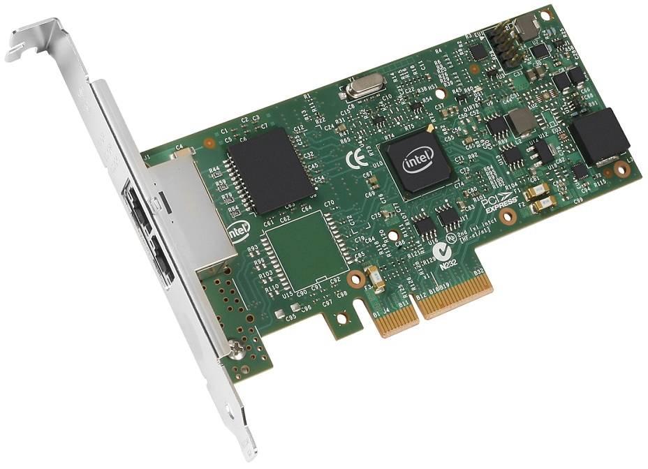 Intel I350 T2 V2 Server Adapter RJ45 PCI-E RETAIL