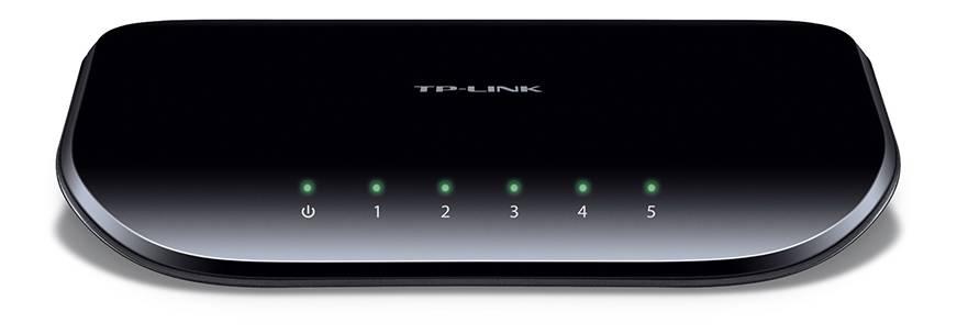 TP-LINK, nätverksswitch, 5-ports 10/100/1000Mbps, RJ45