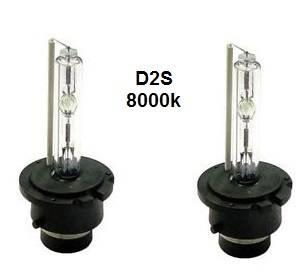 Xenonlampor, D2S 8000k, 2-pack