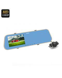 1080P Full HD Backspegelskamera till bil, 170 graders vidvinkel