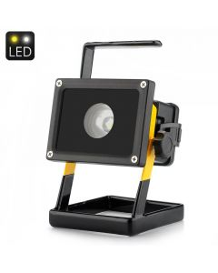 10W bärbar LED-strålkastare, livslängd 100 000 h, arbetsbelysning