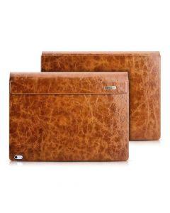 Ljusbrunt läderfodral för Surface Book 2 13,5