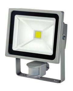 30W LED strålkastare med rörelsesensor, vattentät