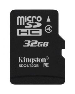 Kingston 32GB MicroSDHC Klass 4