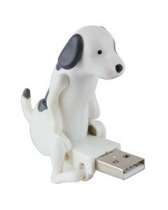 Juckande USB hund - vit/svart - Humping Dog