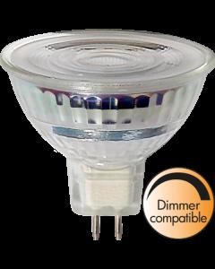 LED-Lampa GU5,3 MR16 Spotlight Glass