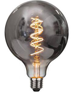 Heavy Smoke LED-Lampa, 4W, 2100K, E27, G125, flexifilament, dimmerkompatibel