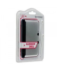 3DS XL Aluminum Shell with 2 Stylus Pens (Silver) - Hyperkin