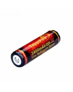 18650 Uppladdningsbart Batteri TrustFire, PCB, 3,7V, 3400mAh