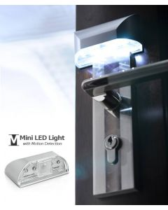 Kompakt LED-lampa med PIR rörelsedetektion