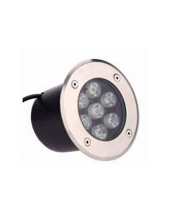 5W Utomhus LED Spotlight - 220V, Kallvit