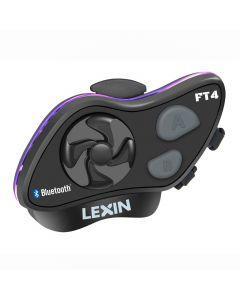 Bluetooth headset för motorcykelhjälm med intercom, FM-tuner, IP67, 2000m