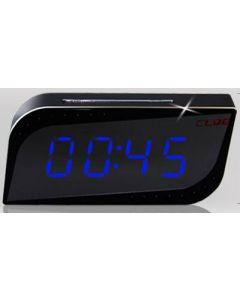 Slim Wifi alarmklocka, dold kamera, rörelsesensor, mörkersyn, 720p, p2p