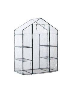Oh My Home Casa Växthus med Hyllor