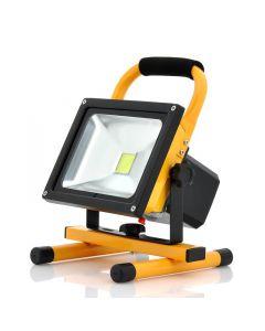 Bärbar LED strålkastare 30w, roterbar 360 grader, arbetsbelysning