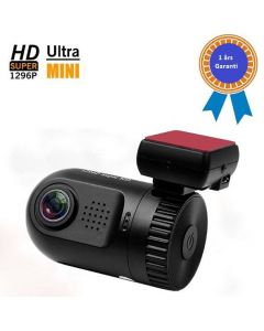 Bilkamera DVR, 120 graders synvinkel, 720p HD