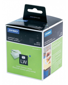 DYMO LW Large address labels - Low-Entry Volume, 89x36mm, 1x260 etiket