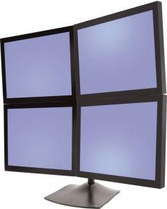 Ergotron bordsstativ för 4 monitorer 2 ver, 2 hori