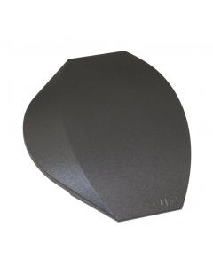 Ändstycke till mjuk Golvlist, 150mm, grå