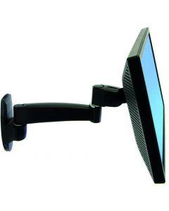 Ergotron 45-233-200, monitor arm för väggmontering, max 11,3kg, svar