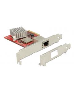 DeLOCK nätverkskort, PCI-Express x1, 10GbE, 1xRJ45, NBASE-T