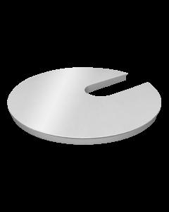 Powerdot Dekorlock i metall, silver