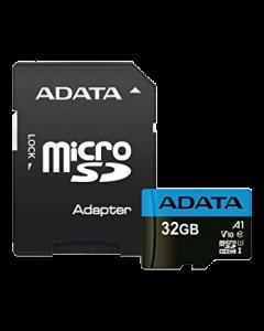 ADATA 32GB MicroSD UHS-I Class 10 A1 w/SD Adapter