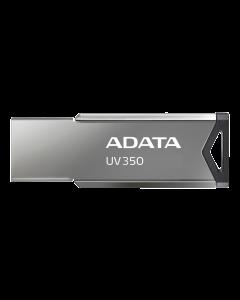 ADATA UV350 - USB-flashenhet - 128 GB - USB 3.2 Gen 1 - silver