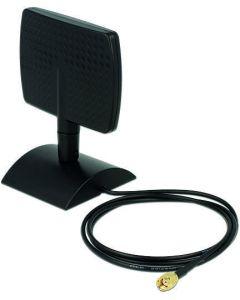 DeLOCK WLAN antenn RP-SMA ha, 4-6 dBi, 2,4/5GHz, rundstrålande, svart