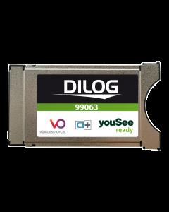 Dilog, CA-Modul för YouSee i Danmark, DVB-C, CI+, HD