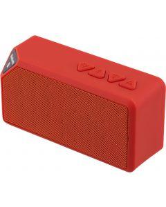 STREETZ Bluetooth högtalare, v3.0, uppladdningsbart batteri, röd