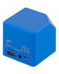 STREETZ Bluetooth högtalare, v2.1+EDR, 2h, 10m, kameraslutare, blå
