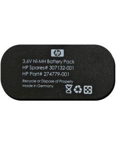 HP 3,6V, 500 mAh, Ni-MH batteripack, svart