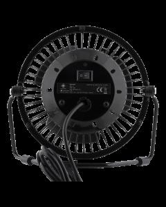 DELTACO GAMING USB bordsfläkt med klocka, timmar/minuter/sekunder, sva