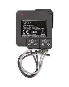 Nexa Trådlös 2-kanals sändare för inbyggnad