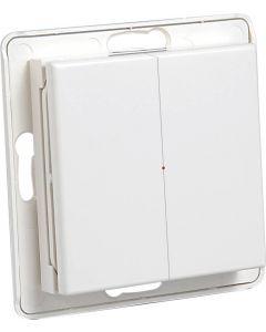 Nexa Pro WTE-2 Trådlös väggsändare, 2-vägs, lev utan ram, 433MHz