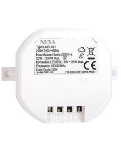 Nexa Trådlös inbyggnadsmottagare för 230 V LED / Dimmer