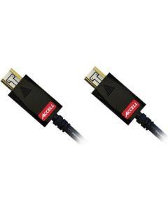 ACCELL AVGrip Pro HDMI-kabel, 19-pin ha-ha, 1m, svart