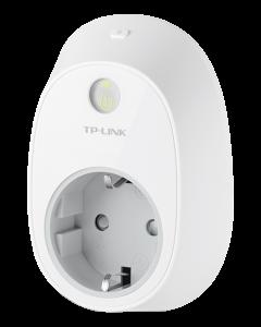 TP-Link HS110, fjärrstyrd strömbrytare, energiövervakning, CEE 7/4,vit