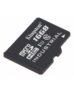 Kingston 16GB microSDHC UHS-I Industrial Temp Card Single P w/o Adapte