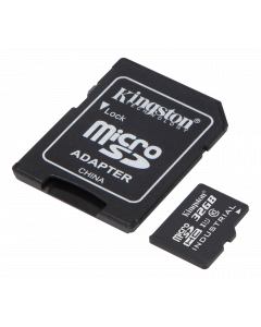 Kingston 32GB microSDHC UHS-I Class 10 Industrial Temp Card + SD Adapt
