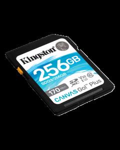 Kingston 256GB SDXC Canvas Go Plus 170R C10 UHS-I U3 V30