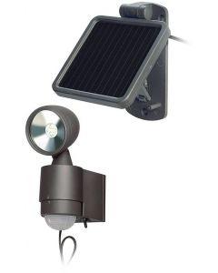 Brennenstuhl Sol 1x4, utomhuslampa med rörelsevakt, 160lm, svart