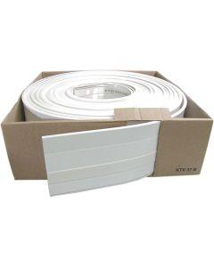 Minikabelkanal på rulle 20m, vit, 15x15mm