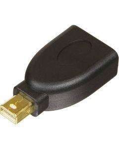 DELTACO Mini DisplayPort ha till  DisplayPort ho, svart