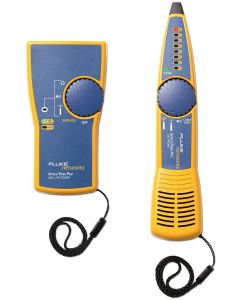 Fluke IntelliTone Pro 200 LAN Kit, Toner+Probe, gul/blå