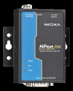 Moxa NPort serieportsserver, 1xRS-232, DB9 ha