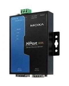 Moxa NPort serieportsserver, 2xRS-232, DB9 ha